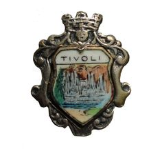 """TIVOLI ITALY Rome Italian Crest flag vintage pin lapel badge pinback by VintageTrafficUSA  14.00 USD  A vintage Italy Pin! used but excellent condition. Measures: approx 1"""" or less -------------------------------------------- SECOND ITEM SHIPS FREE IN USA!!! LOW SHIPPING OUTSIDE USA!! VISIT MY STORE FOR MORE ITEMS!!! http://ift.tt/1PTGYrG FOLLOW ME ON FACEBOOK FOR SALE CODES AND UPDATES! http://ift.tt/1P57awb OR FOLLOW ME ON TWITTER! https://twitter.com/VinTrafficUSA THANK YOU! VIN and ZOE"""