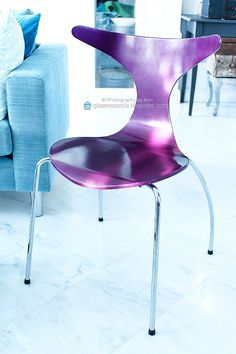 I just looove the color of this chair (a high gloss Dolphin from Dan-Form) in our livingroom! :)) To see more: https://www.instagram.com/glassveranda_interior/ and http://glassveranda.blogspot.com/