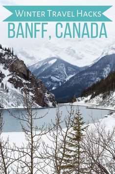 A local's guide to everything you need to know about visiting banff in winter. Tips and tricks to help you plan a better winter vacation in Banff, Canada. The Road, Winter Hiking, Winter Travel, Travel Hacks, Travel Tips, Camping Hacks, Travelling Tips, Travel Guides, Banff National Park