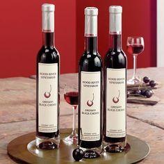 Amazon.com: Oregon Black Cherry Wine: Hood River Vineyard: Home & Kitchen 19.95. Love this stuff!