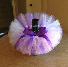 SPARKLE TUTU Birthday Tutu Purple Tutu Newborn by LilPinkGoose, $27.95