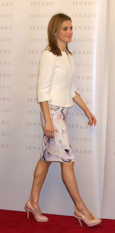MyRoyals:  Queen Letizia attended the Luis Carandell journalism awards ceremony, Madrid, Spain, September 16, 2014