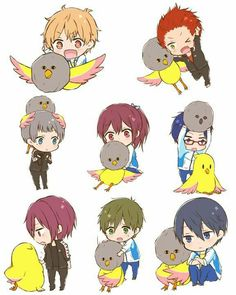 Free! Iwaboti swim club art