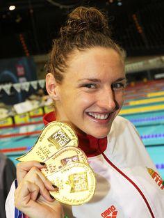 Hosszú Katinka Olympic Swimmers, My Idol, Olympics, Swimming, Iron, Inspirational, Game, Deporte, Photos