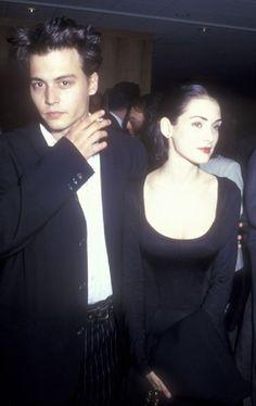 #johnny depp #winona ryder #90s fashion