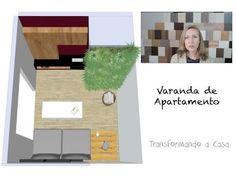Transformando a Casa | Varanda de Apartamento | clara fernandes