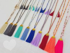 10 WHOLESALE  Tassel necklaces !  Shop selection special deal packet of 10 top selling tassel necklaces von Brightnewpenny auf Etsy https://www.etsy.com/de/listing/276214732/10-wholesale-tassel-necklaces-shop