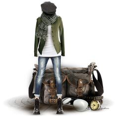 """The Messenger"" by cynthia335 on Polyvore"