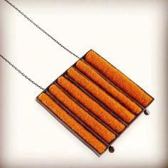 Colar prata oxidada e burel #verapinto #lojaitdesign #contemporaryjewellery #jewelry #joias #saopaulo #burel #design #giftidea #silver #handmade by verapinto.joias