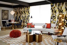 Get the Look: The Suitest Room at the Parker Palm Springs Aspen Sofa Spotlight