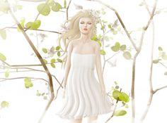 ::{u.f.o}:: Pure Love Dress @ The Dreamers Factory Event | Fashion Second Life