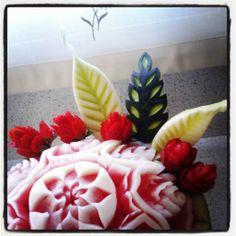 Escultura art de fruita
