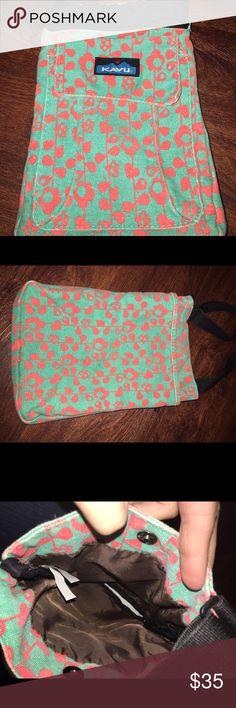 Kavu satchel Aqua and pink Kavu Bags Satchels