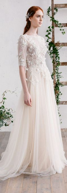 Etsy Wedding Dress - by Jurgita Bridal Vintage Style Wedding Dresses, Gorgeous Wedding Dress, Bridal Style, Bridal Dresses, Vintage Dresses, Nice Dresses, Wedding Gowns, Wedding Cakes, Ivory Wedding