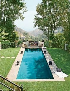 The Designer's Muse: Pools to Dive For via Architectural Digest