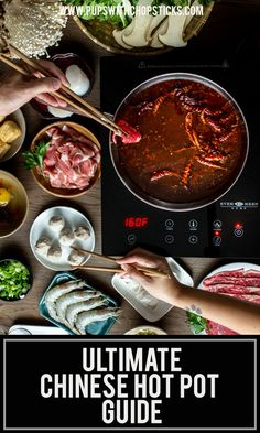 The ultimate Chinese Hot Pot recipe guide on how to make Chinese hot pot at home with ideas on hot pot ingredients, hot pot dipping sauce and a homemade broth. Chinese Hotpot, Recipe Guide, Asian Recipes, Hot Pot Recipes, Cheap Recipes, Chinese Recipes, Asian Cooking, International Recipes, Easy Meals