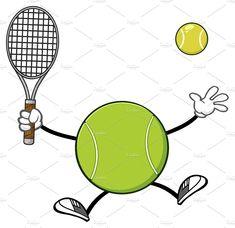 Tennis Ball Faceless Player Tennis Ball Tennis Ball