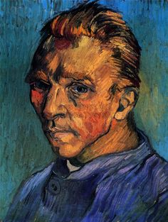 This Vincent Van Gogh painting from 1889 speaks to me because you can really see the sadness and sternness in his expression, and the emotion portrayed in the portrait is convincing. I also like the style in which it was painted a lot.
