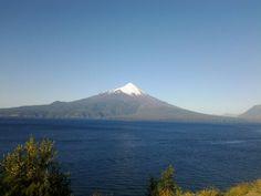 Otra vista del volcán Osorno