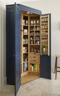 For storage of the kitchen, use a cupboard is a great idea for ...
