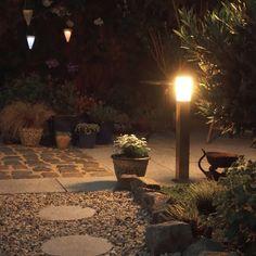 Außenleuchte Malios Pfahl 80: #wegeleuchte #Außenberreich #licht #atmosphäre