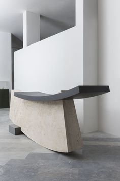 reception desk by wonmin park and testi for the wallpaperhandmade 2016 collection