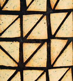 Black Sesame Brown Sugar Shortbread #howto #tutorial