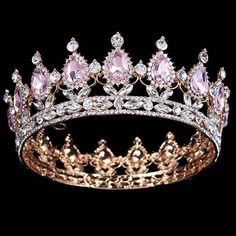 Bling Bridal Peacock Crystal Tiara Wedding Crown Bridal Rhinestone Pageant Queen King Crown gorgeous I want one sooooo bad! Hair Jewelry, Wedding Jewelry, Fashion Jewelry, Wedding Hair, Party Wedding, Wedding Crowns, Jewelry Necklaces, Prom Party, Bridal Crown