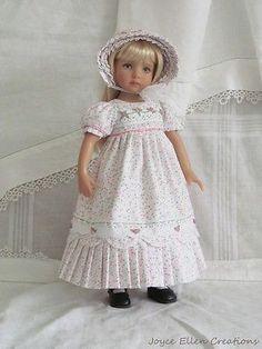 13-Effner-Little-Darling-BJD-fashion-white-pink-Regency-OOAK-handmade-by-JEC. Ends 9/14/14. Sold for $190.50