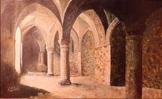Marcel Oullié - la crypte de l'Aquilon