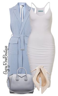 """""""#406"""" by gypsyroseboutique on Polyvore featuring Topshop and Givenchy"""