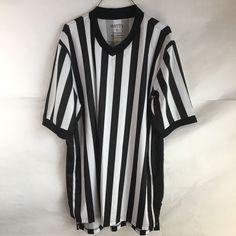 Referee Shirt Smitty XL Moisture Management Basketball V Neck #Smitty
