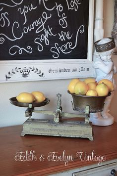 RESERVE for Stephanie: Rare Antique French Balance Scale Force Brand Country Store - Rare Antique French Balance Scale Force Brand by edithandevelyn on Etsy - Kitchen Dinning, Old Kitchen, Vintage Kitchen, Dining Room, Antique Farmhouse, Country Farmhouse Decor, Vintage Decor, Unique Vintage, Vintage Furniture