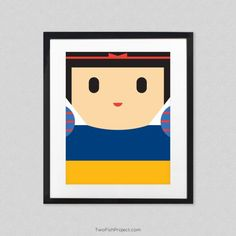 The Minimal Art Prints Show Us Those Well-Received Pop Culture Characters