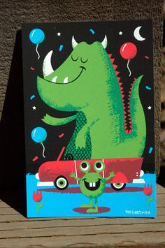 Monster Parade Contribution by Tad Carpenter