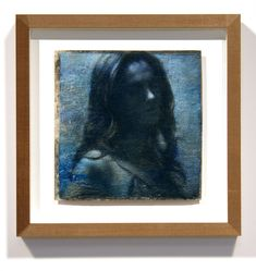 """Bluer Than Velvet Was the Night 8 x 8"""" (20 x 20cm) Oil, wax and charcoal on muslin and Mylar 2020 A piece inspired by the Lana Del Rey song - Blue Velvet @lanadelrey www.fletchersibthorp.com Lana Del Rey Songs, Blue Velvet, Artworks, Charcoal, Wax, Inspired, Night, Room, Inspiration"""