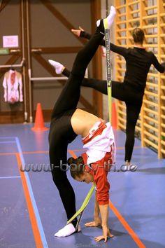 backstage rhythmic gymnastics