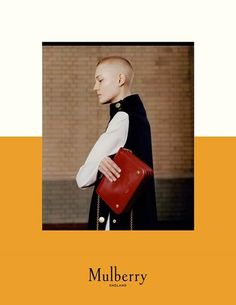 Mulberry Autumn 2016 Campaign (Mulberry) lina hoss