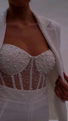 Unique Dresses, Stylish Dresses, Elegant Dresses, Beautiful Dresses, Fashion Dresses, Wedding Dress Shapes, Wedding Dress Suit, Wedding Dresses, Cute Casual Outfits