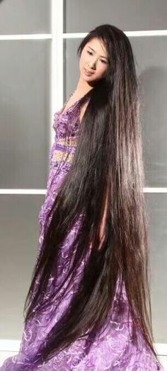 China woman have long hair as always