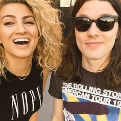 """James Bay from Grammys 2016: Instagrams & Twitpics  """"Casual rehearsal with @ToriKelly (!!!) for @TheGRAMMYs tomorrow!!"""""""