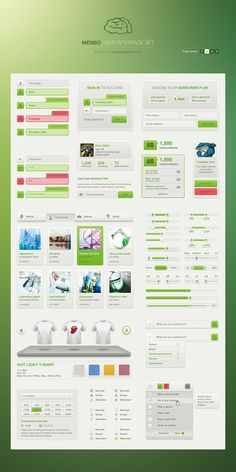 (02) Menson UI full Set for $19 http://vandelaypremier.com/psd-files/menso-ui-set-light/