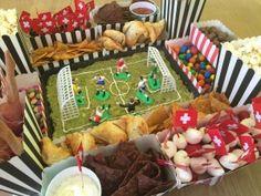 Snackstadion für Fussballabende