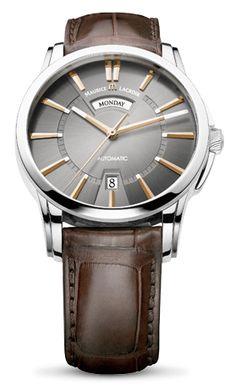 Maurice Lacroix PONTOS DAY/DATE - PT6158-SS001-03E €1630 su premiumwatches.com