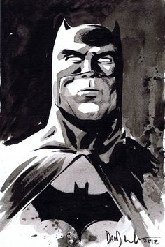 Batman by Dave Wachter.