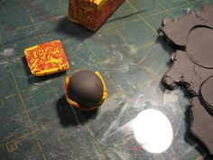 Tutorial: Polymer Clay Bead Basics Part 1- Covering a Core