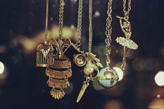 Necklaces. <3