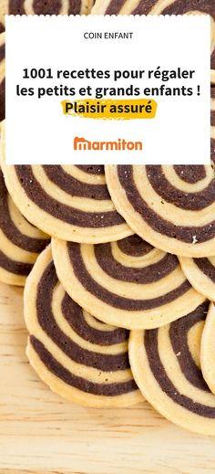 Des recettes à faire pour les enfants, ou avec les enfants. Des recettes simples et amusantes pour se régaler avec le sourire #marmiton #recette # cuisine #enfant
