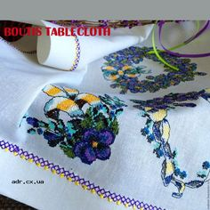 boutis tablecloth