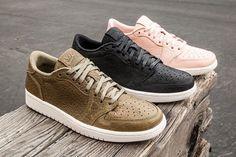 Nike Air Jordan 1 Low 'No Swoosh'